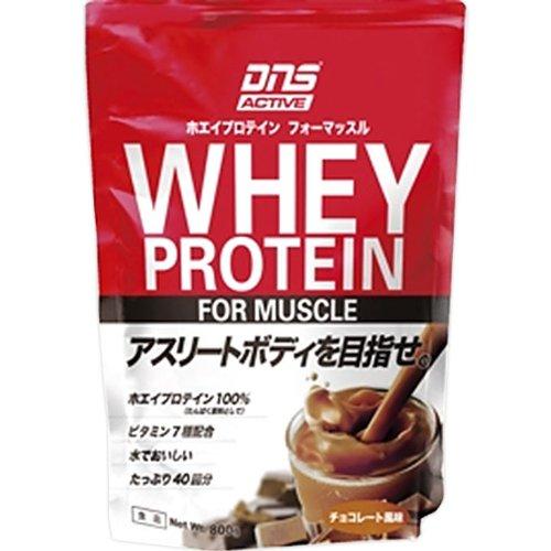 DNS アクティブ ホエイプロテイン チョコレート味 800g