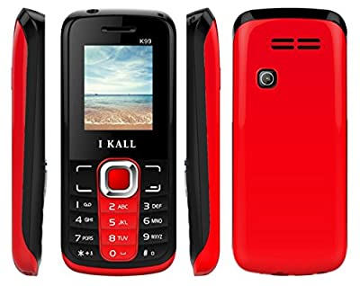 I KALL K-99 Dual sim multimedia phone with bluetooth-red (Red)