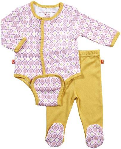 Magnificent Baby Baby Girls' L/S Burrito Bodysuit & Pant Set - Girls Marrakesh - 3M
