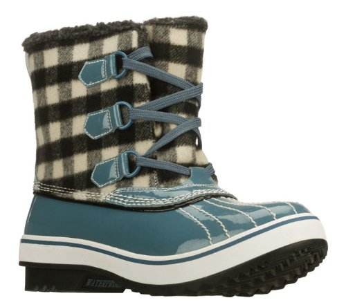 Skechers Highlanders Ice Pack Womens Waterproof Boots Cloud Blue 6