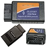 Bluetooth OBDII OBD2 Diagnostic Scanner, Scan tool check Engine Light CAR CODE READER for ELM327
