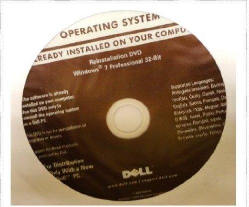 Dell Reinstallation DVD Windows 7 Professional