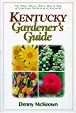 img - for Kentucky Gardener's Guide book / textbook / text book