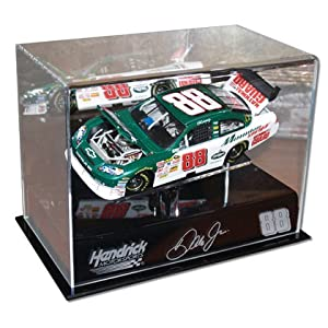 Dale Earnhardt Jr. 1 24th Die Cast Display Case with Platform by Mounted Memories