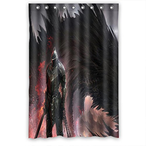 Monster And Iron Man Fashion Custom Fabric Shower Curtain 48(W)X72(H)