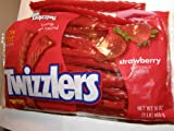 Twizzlers Twists, Strawberry, 16-Ounce Bags (Pack of 6)