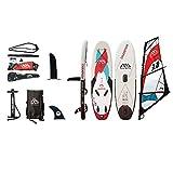 Aqua Marina Champion Windsurf Inflatable Stand-up Paddle Board (Sail Rig Included)