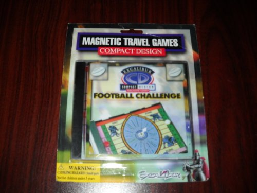 Football Challenge by Excalibur Magnetic Travel Compact Design