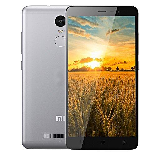 Redmi Note 3 4G Phablet, 5.5 inch MIUI V7 MediaTek Helio X10 Octa Core 2.0GHz, RAM: 3GB, ROM: 32GB(Grey)