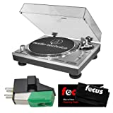 Audio-Technica AT-LP120-USB Direct-Drive Professional Turntable (USB & Analog) with Audio-Technica Dual Magnet Phono Cartridge