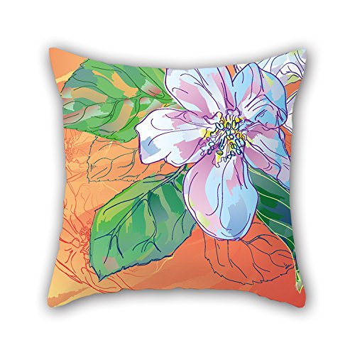 PILLO Cushion Covers Of Flower,for Wedding,kids Girls,couch,girls,divan,kids Room 18 X 18 Inches / 45 By 45 Cm(twin Sides) (Ps4 Ventilator compare prices)