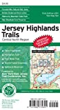 img - for Jersey Highlands Trails: Central North Region Trail Map book / textbook / text book
