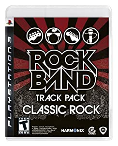 Rock Band Track Pack: Classic Rock - PlayStation 3 Standard Edition
