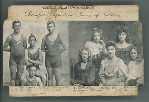 poster-photograph-albert-park-state-school-champions-including-frank-beaurepaire-this-black-and-whit