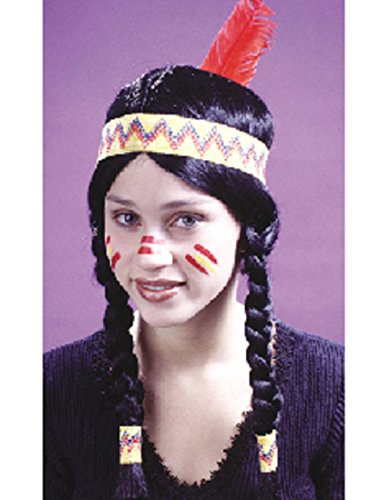 Braided Indian Wig