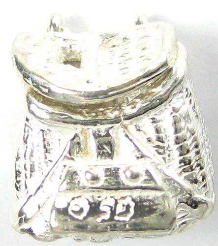 Creel Tie Tack - Lapel Pin in Sterling Silver