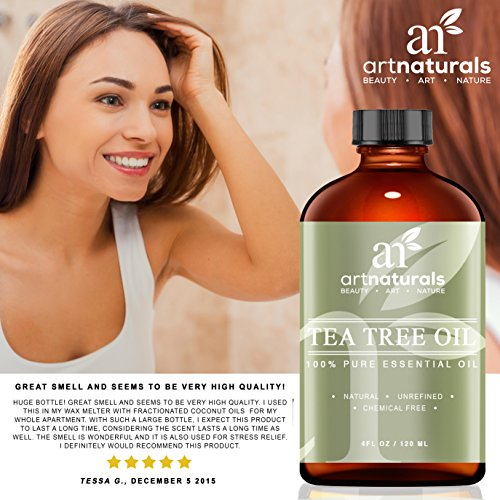 Art Naturals 174 Tea Tree Essential Oil Pure Amp Natural 4 Oz