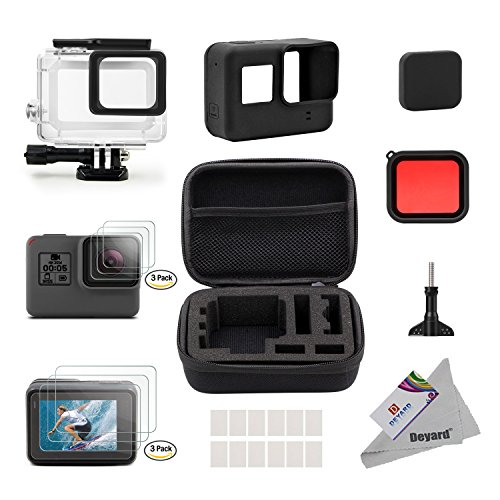 deyard-25-in-1-gopro-hero-5-accessory-kit-with-shockproof-small-case-bundle-for-gopro-hero-5-action-