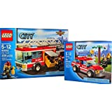 Lego City Fire Combo Sets 60001 & 60002