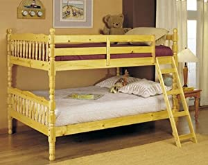 Full Size Convertible Bunk Bed Natural Finish from ACME
