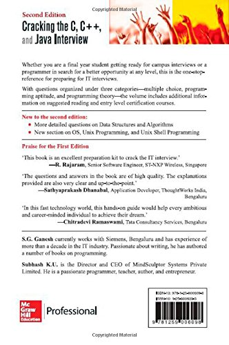 Cracking the IT interview By M Balasubramaniam free