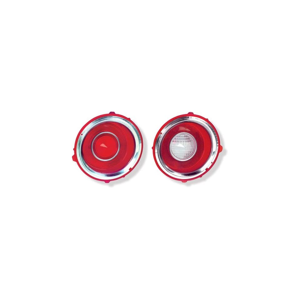 New Chevy Camaro Tail Lamp Lens Kit   RS, 4pc 70 71