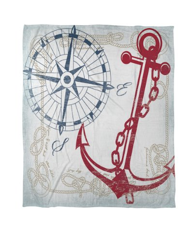 Twin Nautical Bedding 4199 front