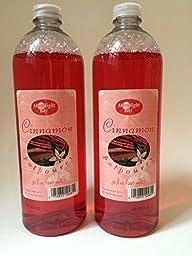 Moonlight Bay Cinnamon Liquid Potpourri 32oz (Set of 2)
