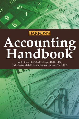 Accounting Handbook (Barron's Accounting Handbook) image