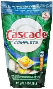 Cascade Complete All-in-1 ActionPacs Citrus Breeze Scent Dishwasher Detergent 26 Count