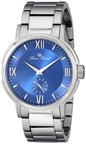 Lucien Piccard Men'S Lp-12744-33 Bremen Analog Display Japanese Quartz Silver Watch