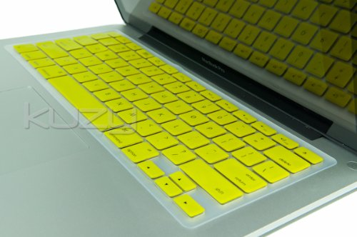 #>>  Kuzy - YELLOW Keyboard Cover Silicone Skin for MacBook Pro 13