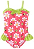 Pink Platinum Baby-Girls infantil Grandes floral Bañador, fucsia, 24 Meses Color: Fuchsia Tamaño: 24 Meses (Baby/Babe/Infant - Little Ones)