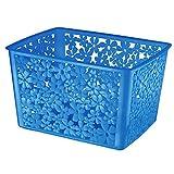 InterDesign Blumz X6 Nesting Basket, Cerulean