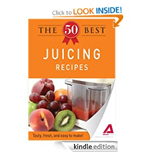 Kindle Daily Deal: The 50 Best Juicing Recipes: Tasty, fresh, and easy to make!, by Editors of Adams Media. Publisher: Adams Media (October 3, 2011)