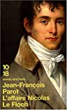 echange, troc Jean-François Parot - L'Affaire Nicolas Le Floch