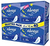 Always Ultra Pads Night 4 x 10 Pads