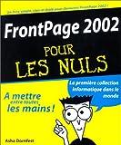 echange, troc Asha Dornfest - FrontPage 2002 Pour les Nuls
