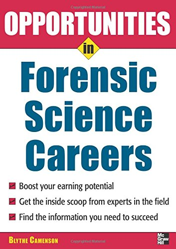 Opportunities in Forensic Science (Opportunities in ... (Paperback))