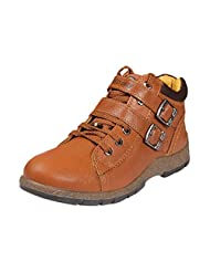 Red Chief Men RC2724 Tan Leather Boots