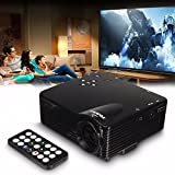 CAMTOA Home Cinema Movie Theater Multimedia LED LCD Projector...