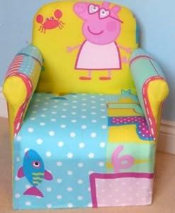 Peppa Pig Childrens Disney Tv Characters Chiar Sofa