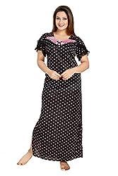 Vimal Fashion Cotton Multi Colour Printed Night Wear / Nightgown / Women Sleepwear / Womans Pyjamas (VF035)