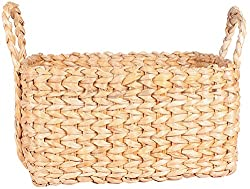Bharat impex Banana fiber Basket (40 cm x 20 cm, Natural, 224)