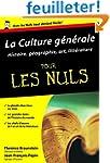 Culture g�n�rale Poche Pour les nuls...