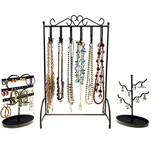 jewellery-organiser-combo-necklace-stand-earring-holder-and-ring-holder-by-specialty-styles