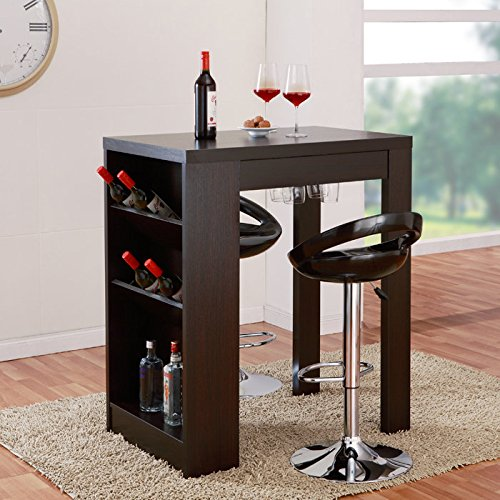 Enitial Lab Jevvie Multi-Storage Bar Table front-177373