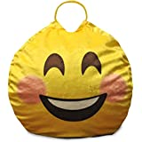 Emoji Pals Bashful And Blushful Mini Bean Bag With Handle For Boys And Girl Toy 49770390