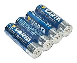 "4x Mignon VARTA ""High Energy"" Batterie AA/LR06/4906"