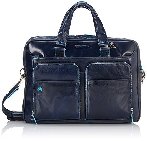 Piquadro CA2849B2 Borsa, Collezione Blu Square, Blu
